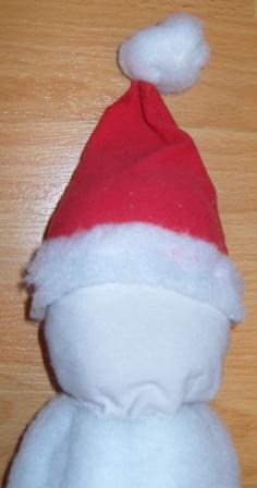 Дед мороз из синтепона своими руками